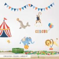 Circus Fun Printed Wall Decal
