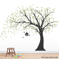 The gallery for --> Black Tree Wall Stickers