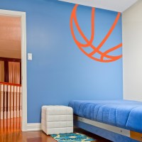 Corner Basketball Wall Decal | Basketball Wall Sticker ...