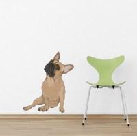 Frank - French Bulldog Printed Wall Decal