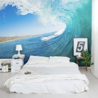 Ocean Wave Wall Mural | Ocean Wallpaper Mural | Wallums