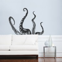 Tentacle Wall Decal | Octopus Wall Art | Wallums