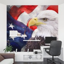 Ameican Bald Eagle Stencil Easy - Year of Clean Water