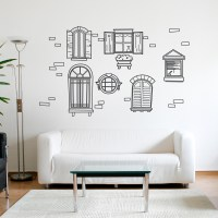 Vintage Wall Decals - d Wall Decal