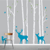 Birch Tree Wall Decals | www.imgkid.com - The Image Kid ...