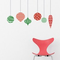 Christmas Decoration Wall Stickers | www.indiepedia.org