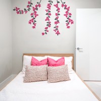 Bougainvillea Flowers Wall Decal