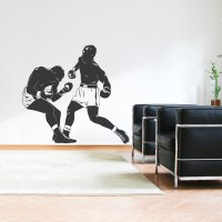 Boxing Match Wall Decal