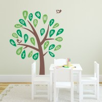 Alphabet Tree Wall Decal | Daycare Wall Decal | Wallums