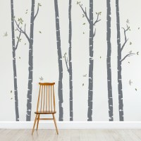 Birch Tree Wall Decals | Forest Wall Decal | Wallums