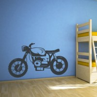 Cafe Racer Wall Decal