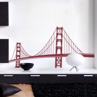 Golden Gate Bridge Wall Decal | San Francisco Wall Sticker