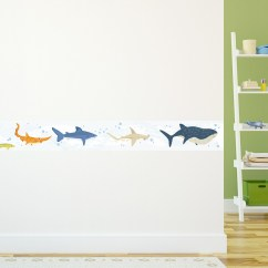 Kitchen Chalkboard Wall Costco Aid Sharks Removable Border