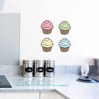 Cupcake Wall Decals | Cupcake Wall Stickers | Wallums