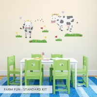 Farm Fun Printed Wall Decal