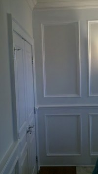 Wainscoting, Crown molding, Chair Rail, & Shadow Box