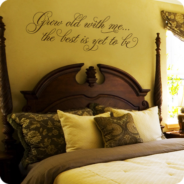 Master Bedroom Wall Quotes