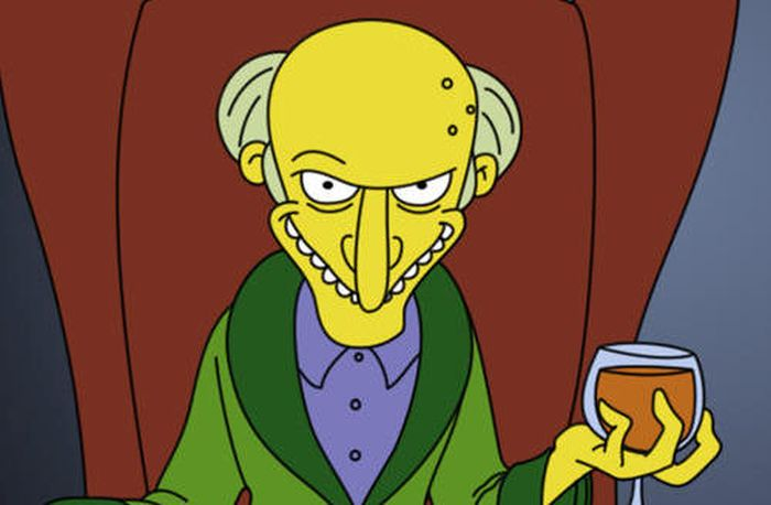 Image result for mr. burns
