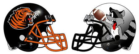 Animal Fantasy Football Helmets
