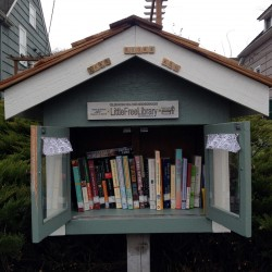 Little Free Library in Wallingford