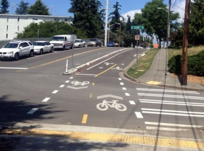 Cycle Track Picture