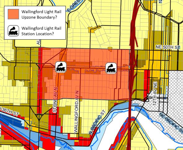 Wallingford Light Rail Upzone