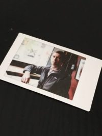Tricia snapped a photo of me at Chocolati after our meeting. Here is my Instax memento.