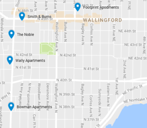 Buildings with MFTE-eligible units in Wallingford