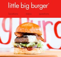 Free Burgers Today @ Little Big Burger