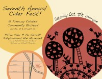 Freeway Estates Cider Fest on Oct. 7th