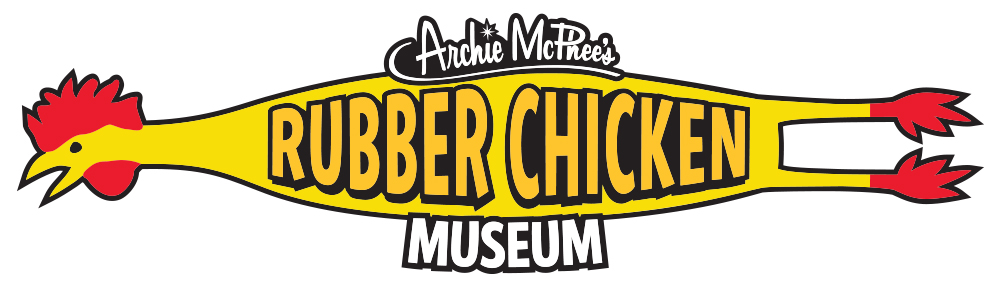 Squawk Of The Town Archie Mcphee S Rubber Chicken Museum