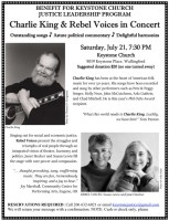 Folk Music / Benefit Tonight