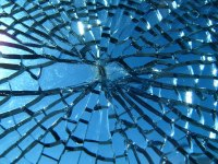 Smashed windows at Slave to the Needle