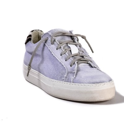 Sneaker donna Raphael tessuto viola