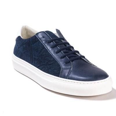 Sneaker uomo Raphael lino cool blu