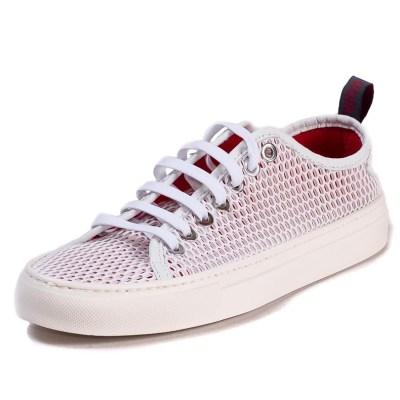 Sneaker uomo Piuma rete rosso