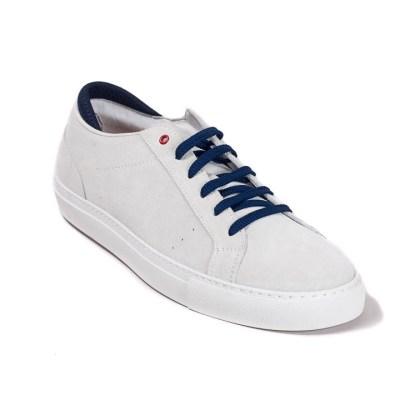 sneaker Roland camoscio bianco-0575