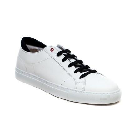 sneaker Roland pelle bianco-2408