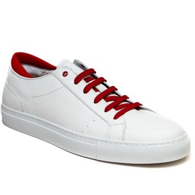sneaker Roland pelle rosso-2403
