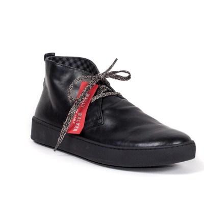 sneaker cisco pelle nera