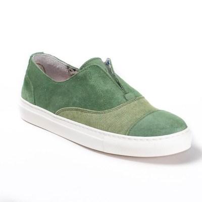 Sneaker donna France D Verde