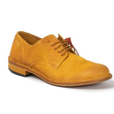 derby Jack camoscio tinto giallo-6727