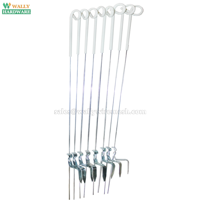 UV-stabilized Plastic and Spring Steel Pig Tail Electric