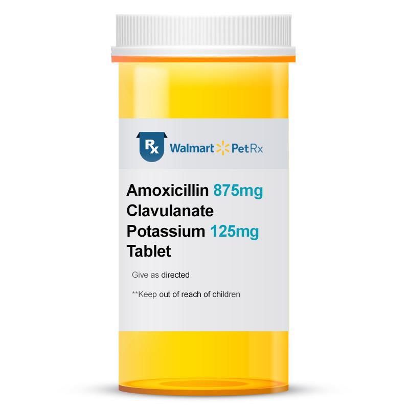 Amoxicillin 875 mg and Clavulanate Potassium 125 mg Tablet