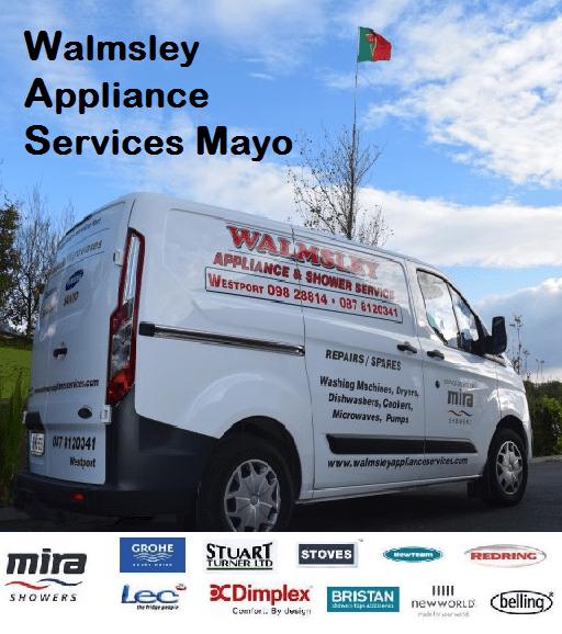 Walmsley appliance services Mayo