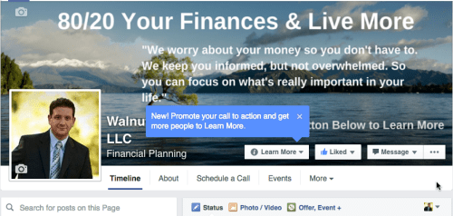 Walnut Hill Advisors Facebook Page