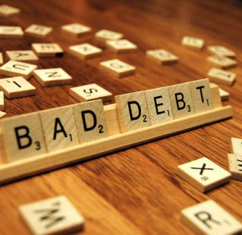 retirement debt bad debt