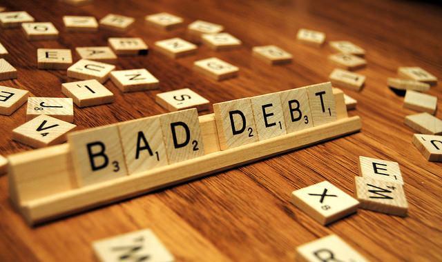retirement debt bad debt