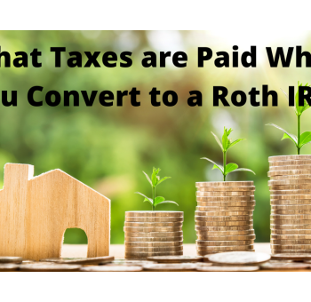 taxes on a Roth conversion