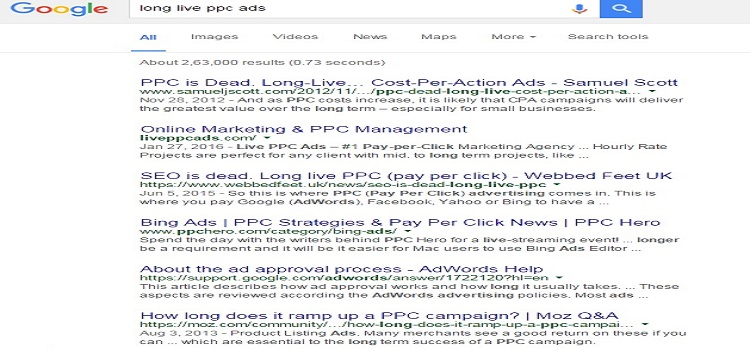 Google: Right Side Ads Are Dead, Long Live the PPC Ads